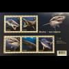 Kanada Canada 2018 Neuheit Haie Fische Knorpelfische Fauna Meeresbewohner Block