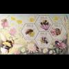 Irland 2018 Block 107 Fauna und Flora Einheimische Bienen Wabenförmige Marken