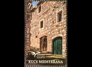 Kroatien Croatia 2018 Nr. 1332 Euromed Häuser im Mittelmeer Architektur