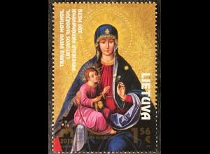 Litauen Lithuania 2018 Nr 1285 Krönung des Gnadenbildes Maria Heimsuchung