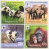 Ungarn Hungary 2018 Michel Nr 5984-87 Weltweiter Naturschutz WWF Worl Wild Found