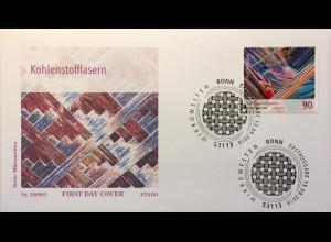 Bund BRD Ersttagsbrief FDC Nr. 3413 13. September 2018 Mikrowelten Kohlenstoff