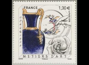 Frankreich France 2018 Nr. 7117 Kunsthandwerk Porzellan Porzellanmanufaktur