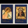 Dänemark Färöer 2018 Neuheit Weihnachten Gemälde Ikonen Orthodoxe Kirchen Bild