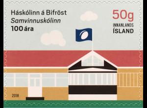 Island Iceland 2018 Neuheit 100 Jahre Universität Bifröst Schule Studium Bildung