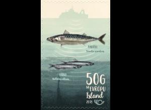 Island Iceland 2018 Neuheit NORDEN Fische Fauna Meeresbewohner Hochseefischerei