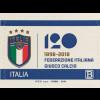 Italien Italy 2018 Neuheit 120 Jahre italienischer Fußballverband ITALIA