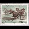 Serbien Serbia 2018 Neuheit Reiterspiele Trabrennfahren Pferdesport