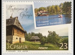 Serbien Serbia 2018 Nr. 813 Tourismus Touristische Ausflugsorte Natur Landschaft