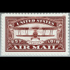 USA Amerika 2018 Nr. 5530 US Air Mail United States Service Stamp Red
