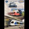 Ungarn Hungary 2018 Block 416 150 Jahre Ungarische Staatsbahnen Eisenbahnen