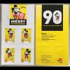 Portugal 2018 Neuheit Mickey Mouse wird am 18 November 90 Jahre alt Walt Disney
