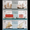 Portugal 2018 Neuheit Historische Segelschiffe Schifffahrt Seefahrernation
