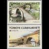 Türkei Turkey 2018 Neuheit Europaausgabe Brücken Bridges Köprü Brückenmotive