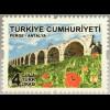 Türkei Turkey 2018 Neuheit Freimarken Berge Natur Mohnblumen Bergwiese