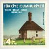 Türkei Turkey 2018 Neuheit Parallelausgabe mit Bosnien Herzegowina Bauernhaus