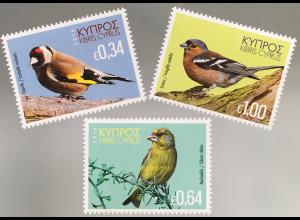 Zypern griechisch Cyprus 2018 Neuheit Vögel Ornithologie Vogelarten Buchfink