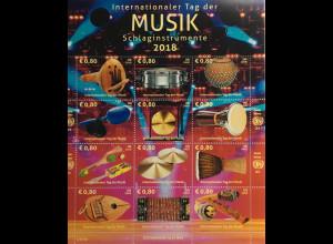 Vereinte Nationen UN UNO Wien 2018 Nr. 1029-40 Internationaler Tag der Musik