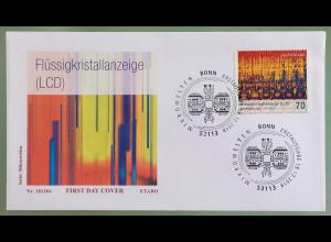 Bund BRD Ersttagsbrief FDC Nr. 3427 18. Dezember 2018 Serie Mikrowelten