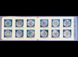 Frankreich France 2018 Nr. 7173-84 Schneekristalle Schneeflocken Kristallbildung