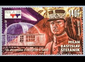 Polynesien französisch 2018 Nr 1387 Milan Rastislav tefánik Politiker Astronom