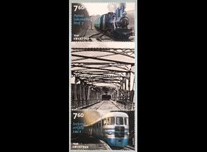 Kroatien Croatia 2018 Nr. 1340-41 Diesellokomotiven Eisenbahn Eisenbahnverkehr