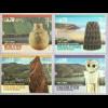 Portugal 2018 Neuheit Prähistorische Routen Ausgrabungen Skulpturen Töpfereien