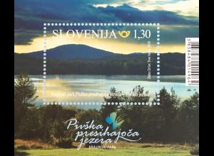 Slowenien Slovenia 2018 Neuheit Landschaftspark der Sickerseen Pivka Natur