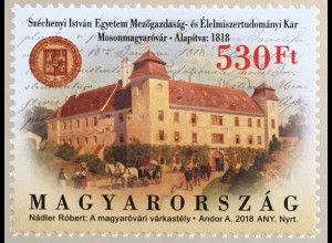 Ungarn Hungary 2018 Nr. 6007 Universität Széchenyi István Bildung Schule