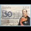 Spanien España 2018 Neuheit 150. Todestag Leopoldo O´Donell General Politiker