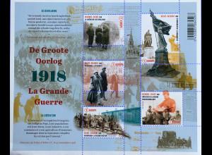 Belgien 2018 Neuheit Erster Weltkrieg in Flandern Fields La Grande Guerre