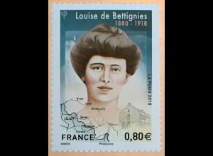 Frankreich France 2018 Nr 7171 100. Todestag von Louise de Bettignies