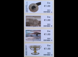 Irland 2018 Neuheit Soar Strip 3 Loughnashade Trumpet Irisches National Museum