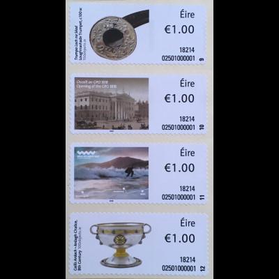 Irland 2018 Neuheit Soar Strip 3 Loughnashade Trumpet Irisches National Museum