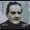 Norwegen 2018 Neuheit 100. Geburtstag Bjerke Hans Börli Schriftsteller
