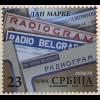 Serbien Serbia 2018 Neuheit Tag der Marke