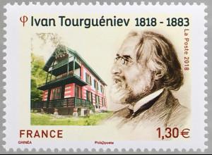 Frankreich France 2018 Nr 7216 200. Geburtstag von Iwan Turgenew Literatur