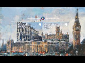 Gibraltar 2018 Block 136 Calpe House in London Wohltätige Einrichtung