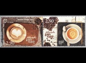 Bosnien Herzegowina Kroatische Post Mostar 2018 Neuheit Tag des Kaffees
