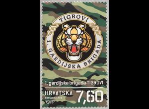 Kroatien Croatia 2018 Nr. 1344 Kroatischer Unabhängigkeitskrieg Garde Brigade