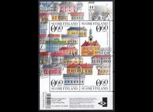 Finnland 2002 Block Nr. 29 Kulturerbe der Menschheit Alt-Rauma