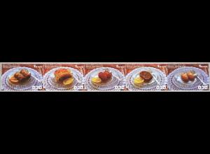 Bosnien Herzegowina 2018 Neuheit Freimarke Gastronomie Dessert Nachspeiße