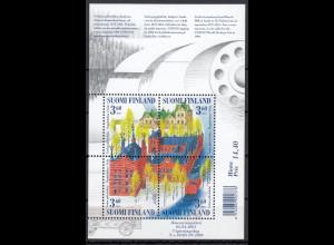 Finnland Suomi 2001 Block Nr. 26 UNESCO Welterbe