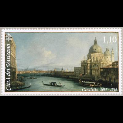 Vatikan Cittá del Vaticano 2018 Nr. 1939 Giovanni Antonio Canal Canaletto Kunst