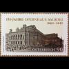 Österreich 2019 Nr. 3450 Opernhaus am Ring Wiener Staatsoper Eröffnung 1869