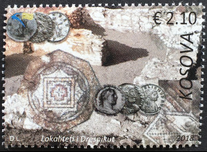 Kosovo 2018 Nr. 439-40 Antiker Ort Dresnik Kulturelles Erbe Archäologie