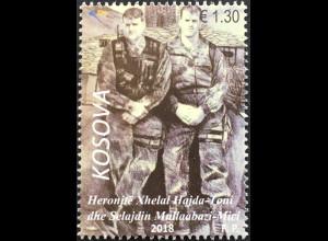 Kosovo 2018 Nr. 447 Helden Xhelal Hajda Toni Selajdin Mullaabazi-Mici
