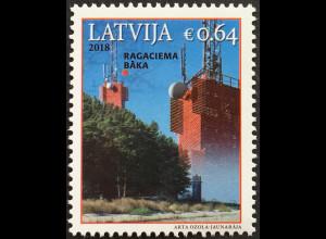 Lettland Latvia 2018 Michel Nr. 1058 Leuchttürme Türme mit Befeuerung