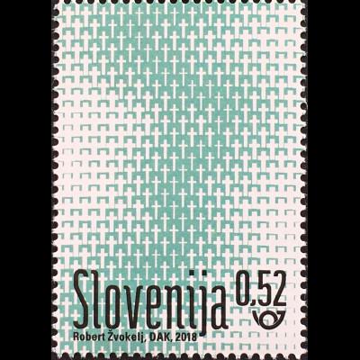 Slowenien Slovenia 2018 Neuheit Gedenken an den 1. Weltkrieg