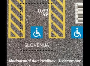 Slowenien Slovenia 2018 Neuheit Internationaler Tag für Menschen mit Behinderung